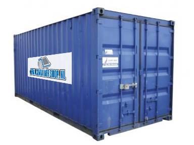 Opslag container huren direct leverbaar goedkoop huren - Huis in containers ...